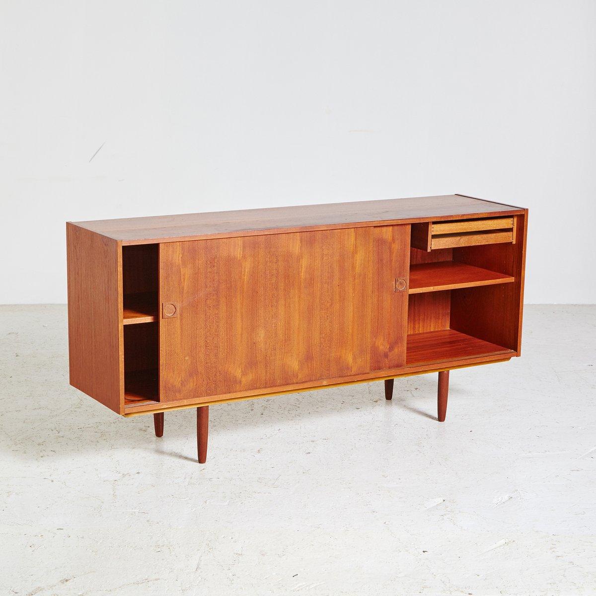 Kleines d nisches mid century sideboard 1960er bei pamono for Sideboard 4 meter lang