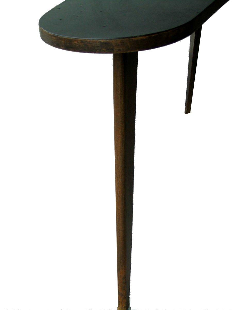 table basse vintage haricot en bois 1950s en vente sur pamono. Black Bedroom Furniture Sets. Home Design Ideas