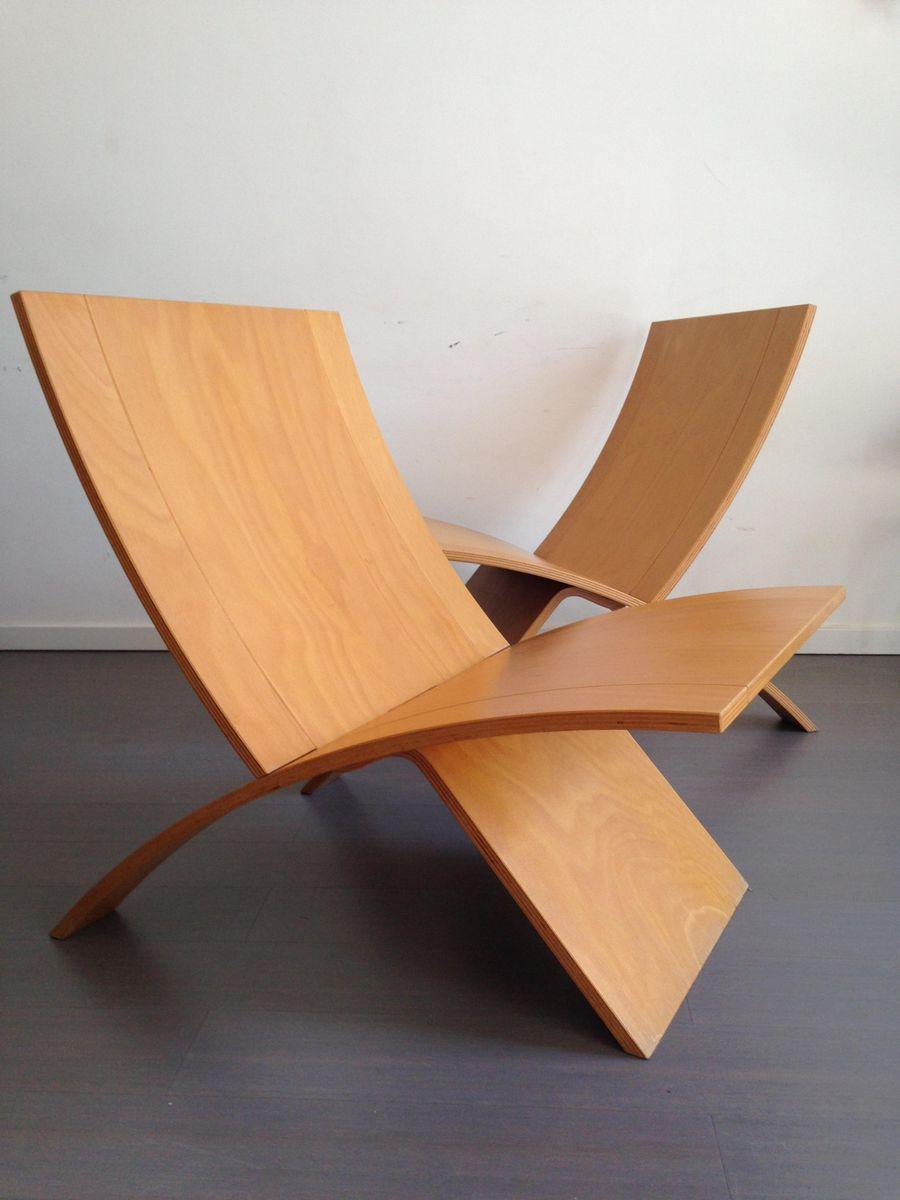 Sessel von Jens Nielsen für Westnofa, 1960er, 2er Set