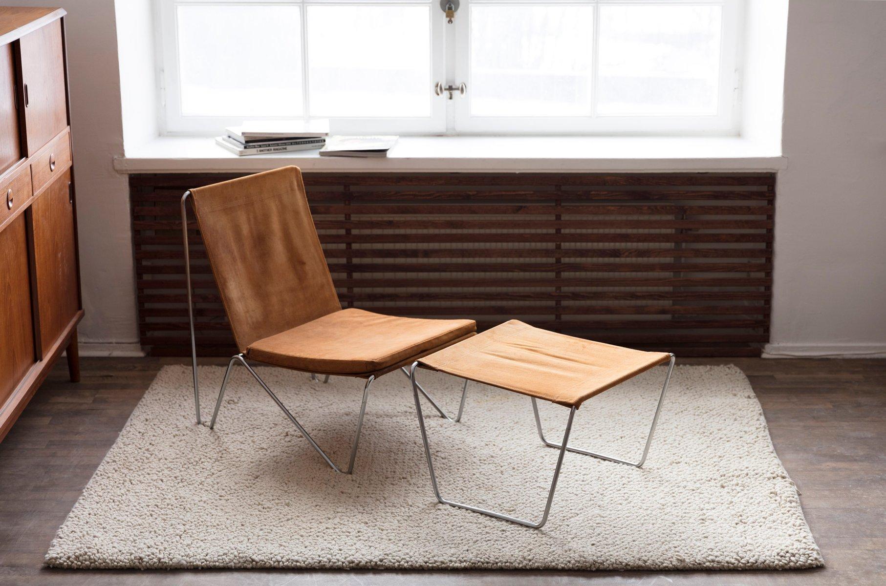 3350 3152 Bachelor Stuhl Ottomane Set Von Verner Panton Für