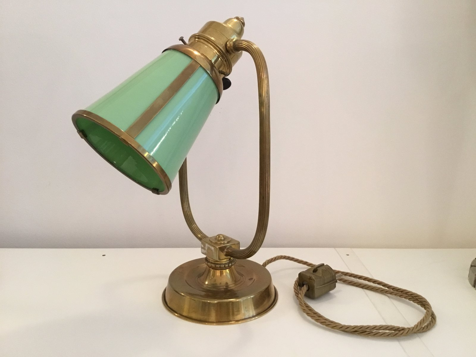 Französische Jugendstil Tischlampe, 1900er