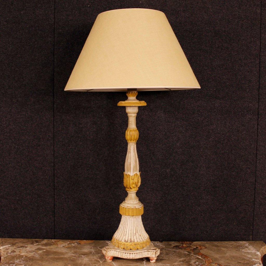 Französische antike Lampen, 2er Set