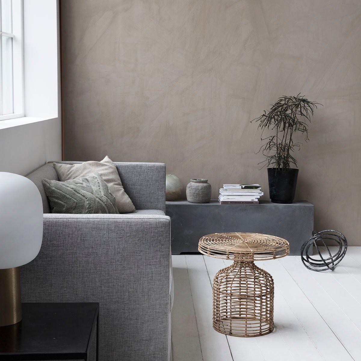 rattan beistelltisch von house doctor bei pamono kaufen. Black Bedroom Furniture Sets. Home Design Ideas