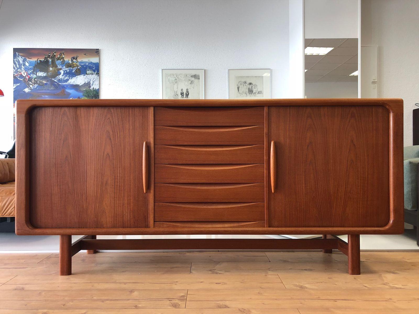 D nisches teak sideboard von dyrlund 1970er bei pamono kaufen for Sideboard danisches design