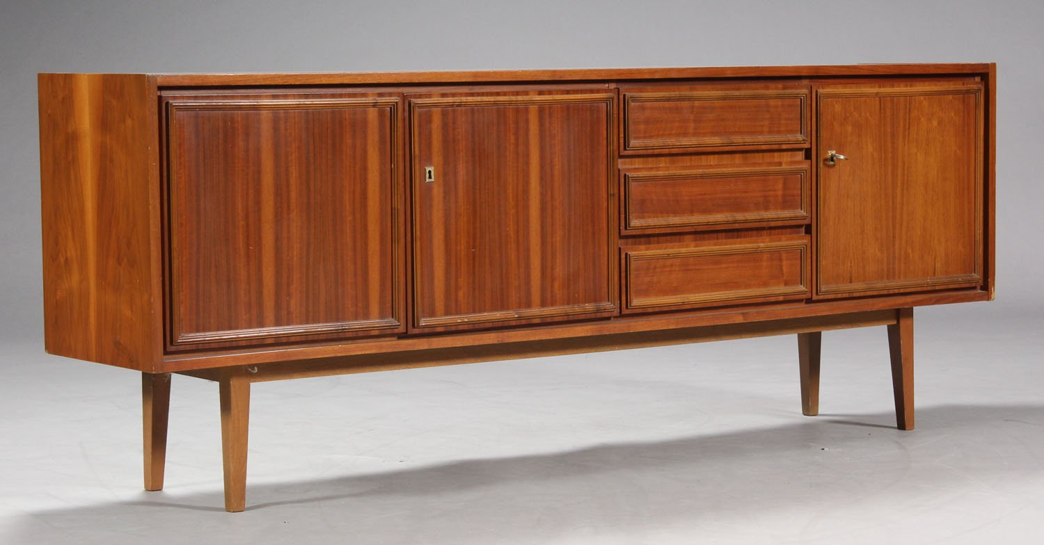 Walnuss Sideboard, 1970er