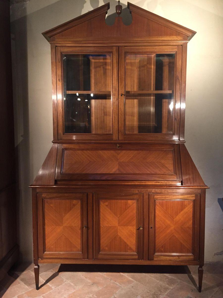 italienischer mid century mahagoni sekret r bei pamono kaufen. Black Bedroom Furniture Sets. Home Design Ideas
