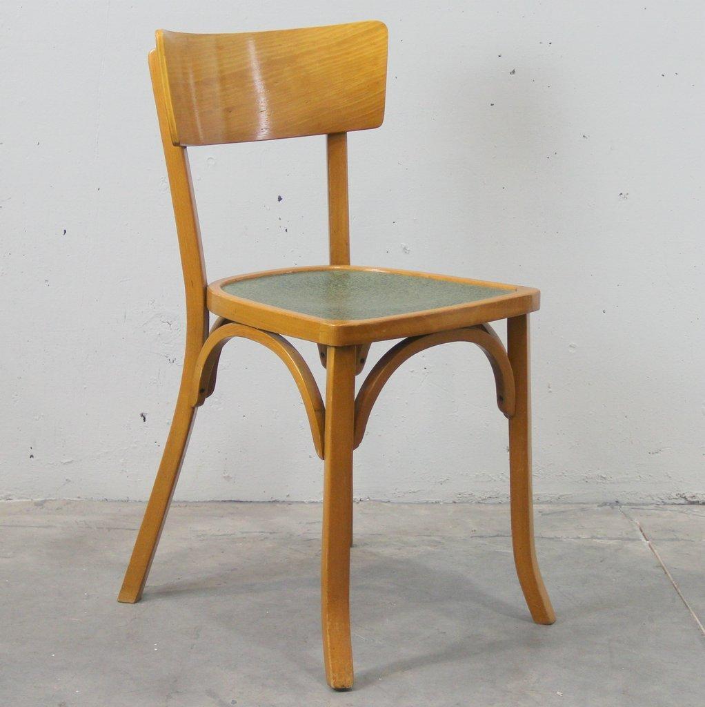 esszimmerst hle 1950er 4er set bei pamono kaufen. Black Bedroom Furniture Sets. Home Design Ideas