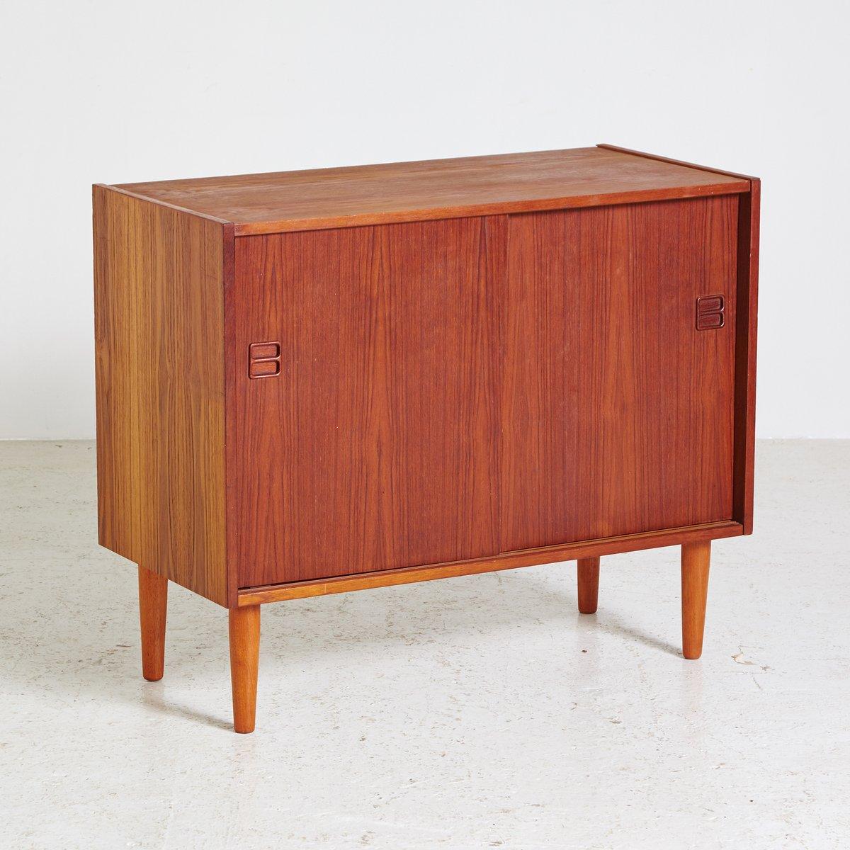 Kleines d nisches teak sideboard 1960er bei pamono kaufen for Sideboard danisches design