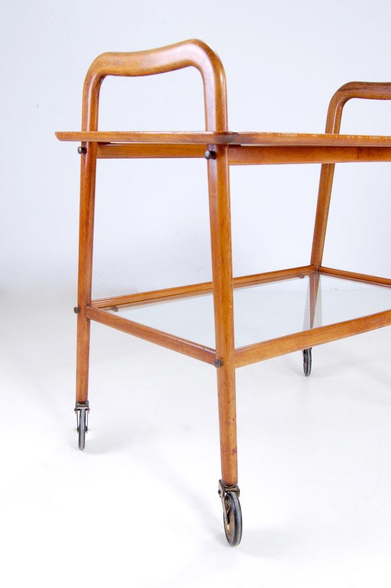 chariot bar e60 par ico parisi pour de baggis 1956 en vente sur pamono. Black Bedroom Furniture Sets. Home Design Ideas