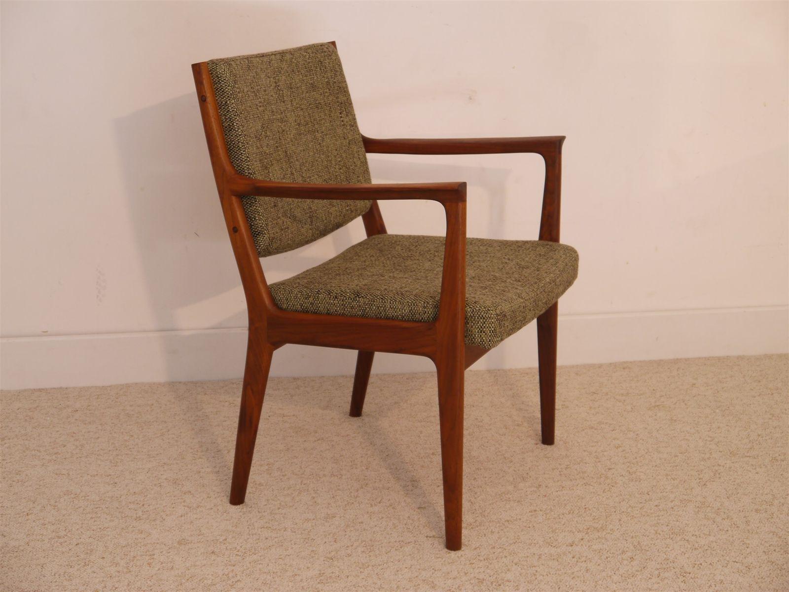 fauteuil vintage en teck par karl erik ekselius pour joc vetlanda 1960s en vente sur pamono. Black Bedroom Furniture Sets. Home Design Ideas