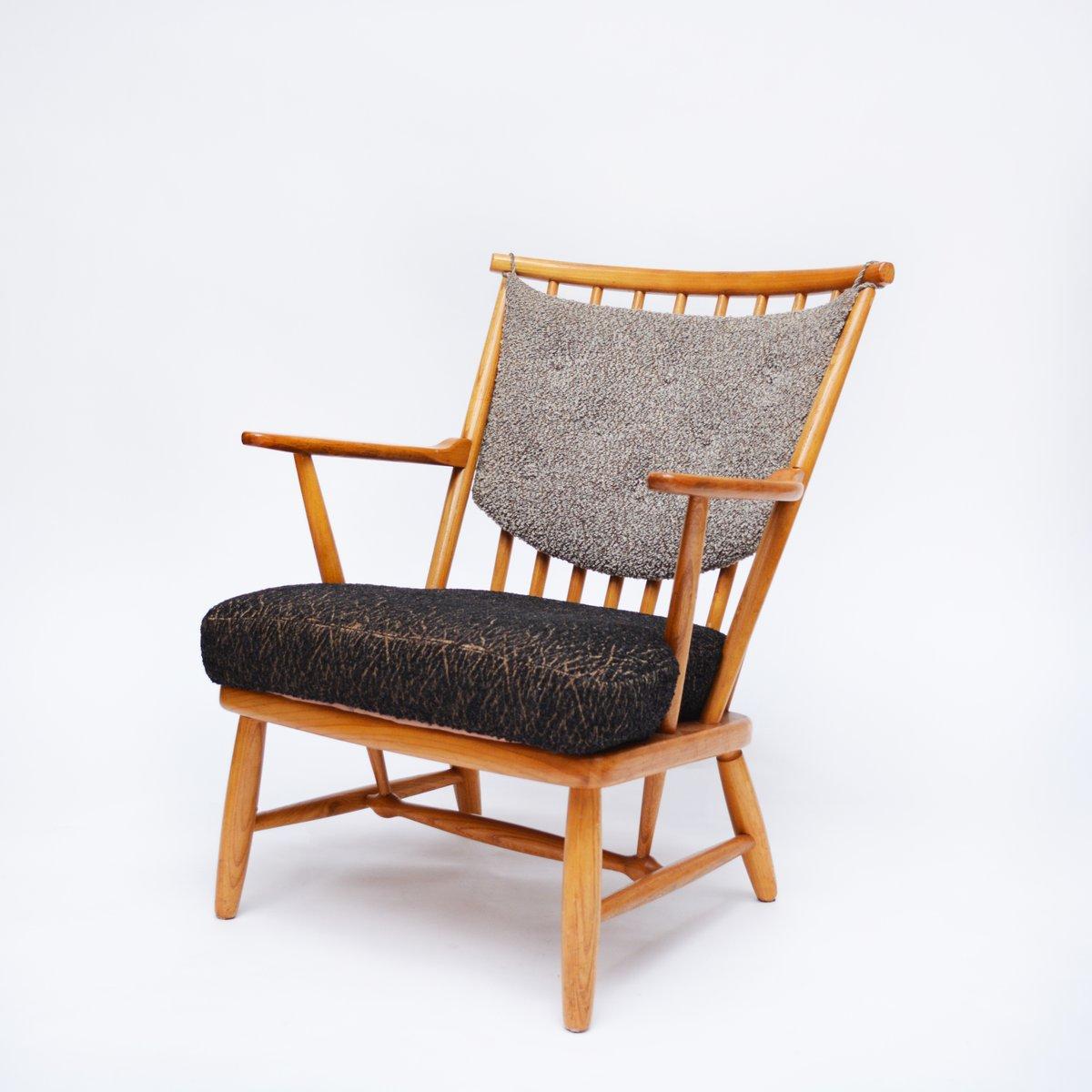 Norwegischer Mid-Century Sessel von Møre Lenestolfabrikk, 1950er