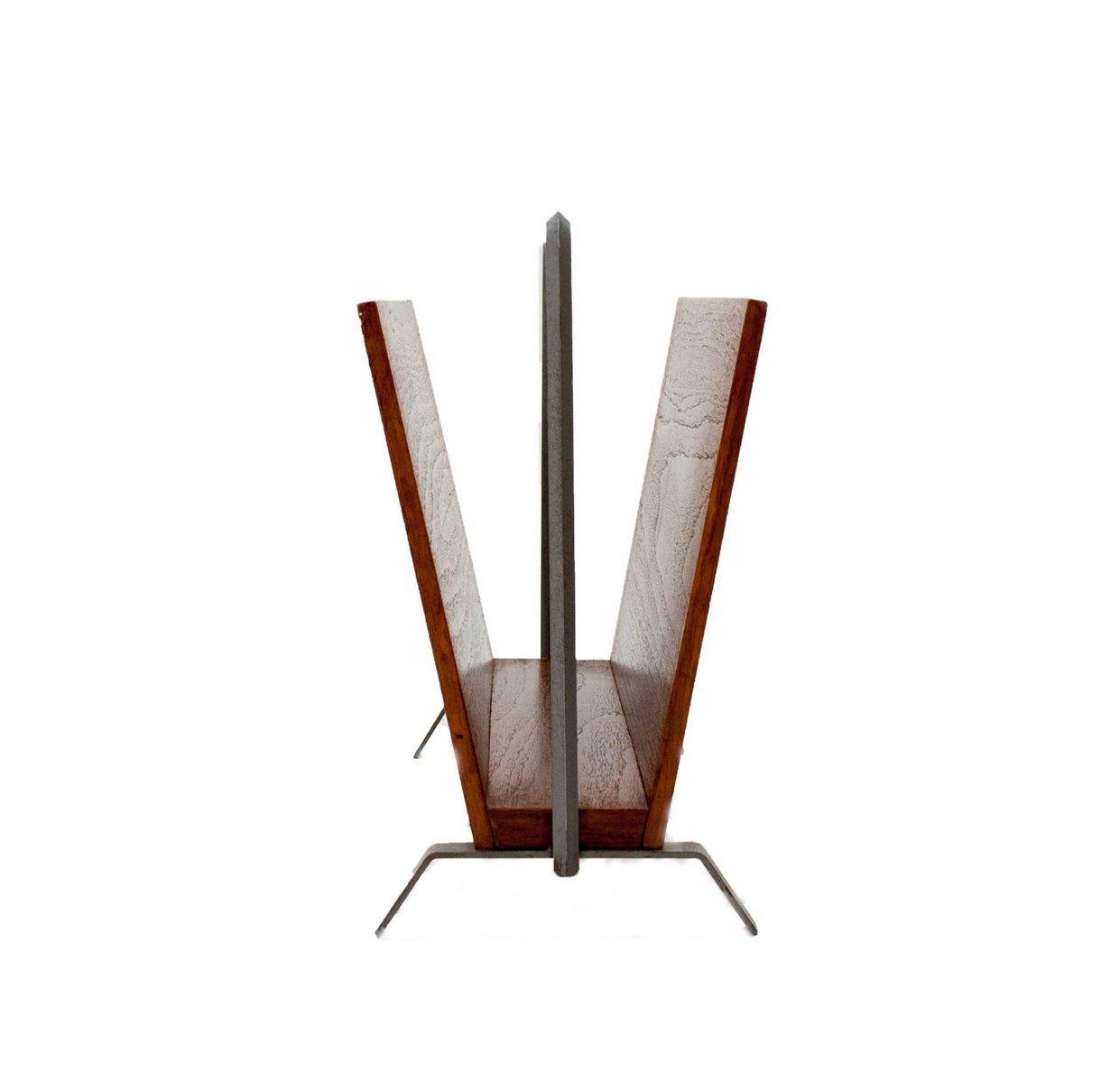 porte revues mid century moderne en teck en vente sur pamono. Black Bedroom Furniture Sets. Home Design Ideas