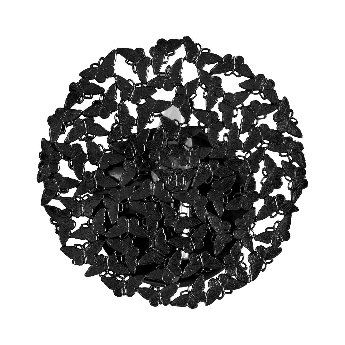 Johnnie Blackened Brass Lost Wax Cast Butterfly Wall Sconce By Fred Juul For Sale At Pamono