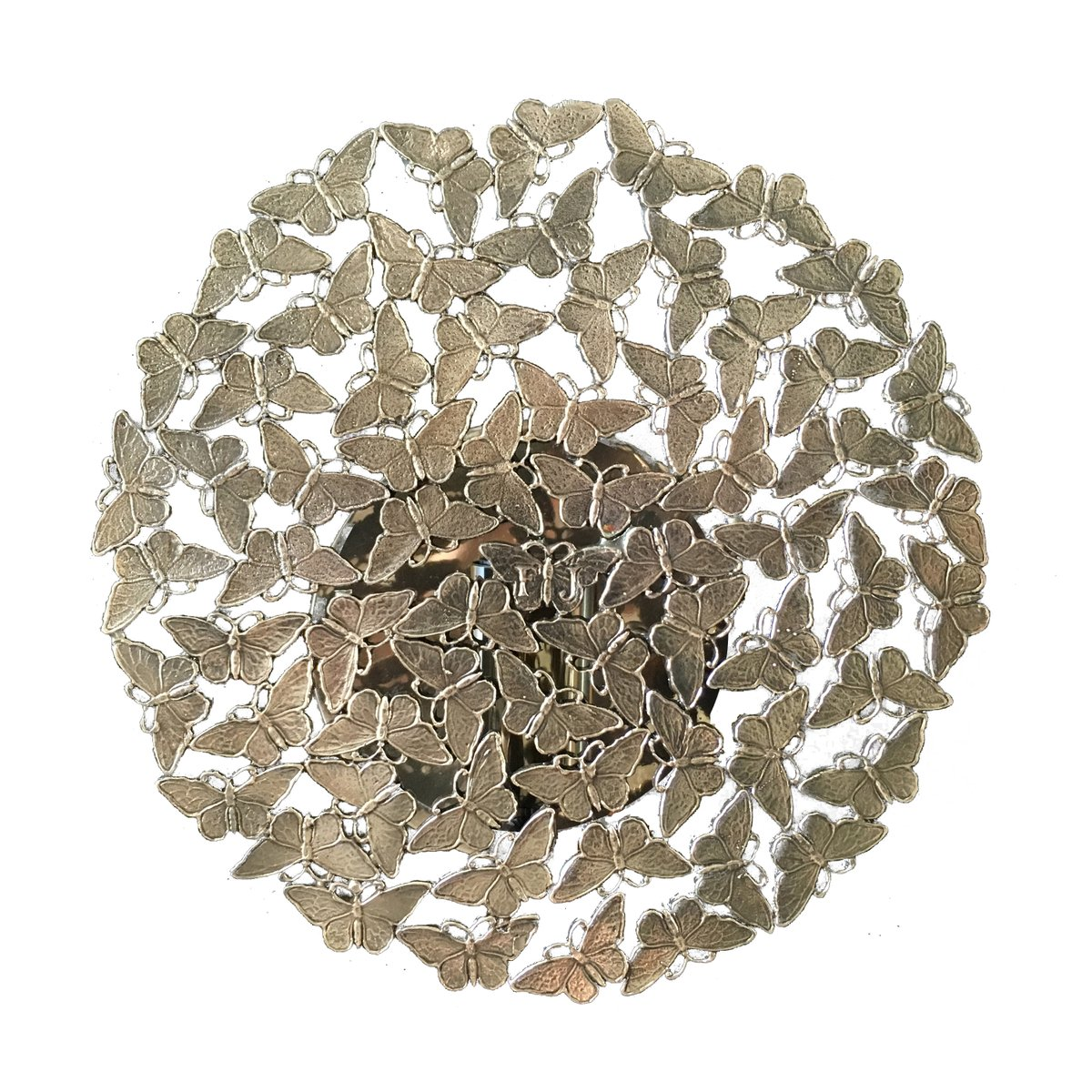 Johnnie Bronze Lost Wax Cast Butterfly Wall Sconce By Fred Juul For Sale At Pamono