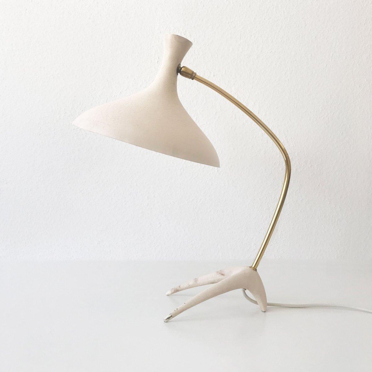 Tischlampe von Louis Kalff für Gebrüder Cosack, 1950er