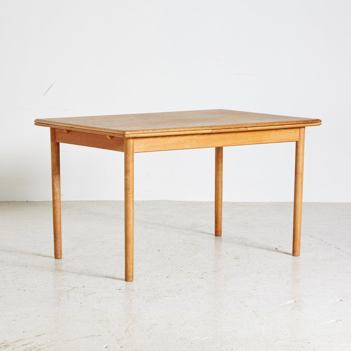D nischer vintage eichenholz esstisch 1960er bei pamono for Eichenholz esstisch