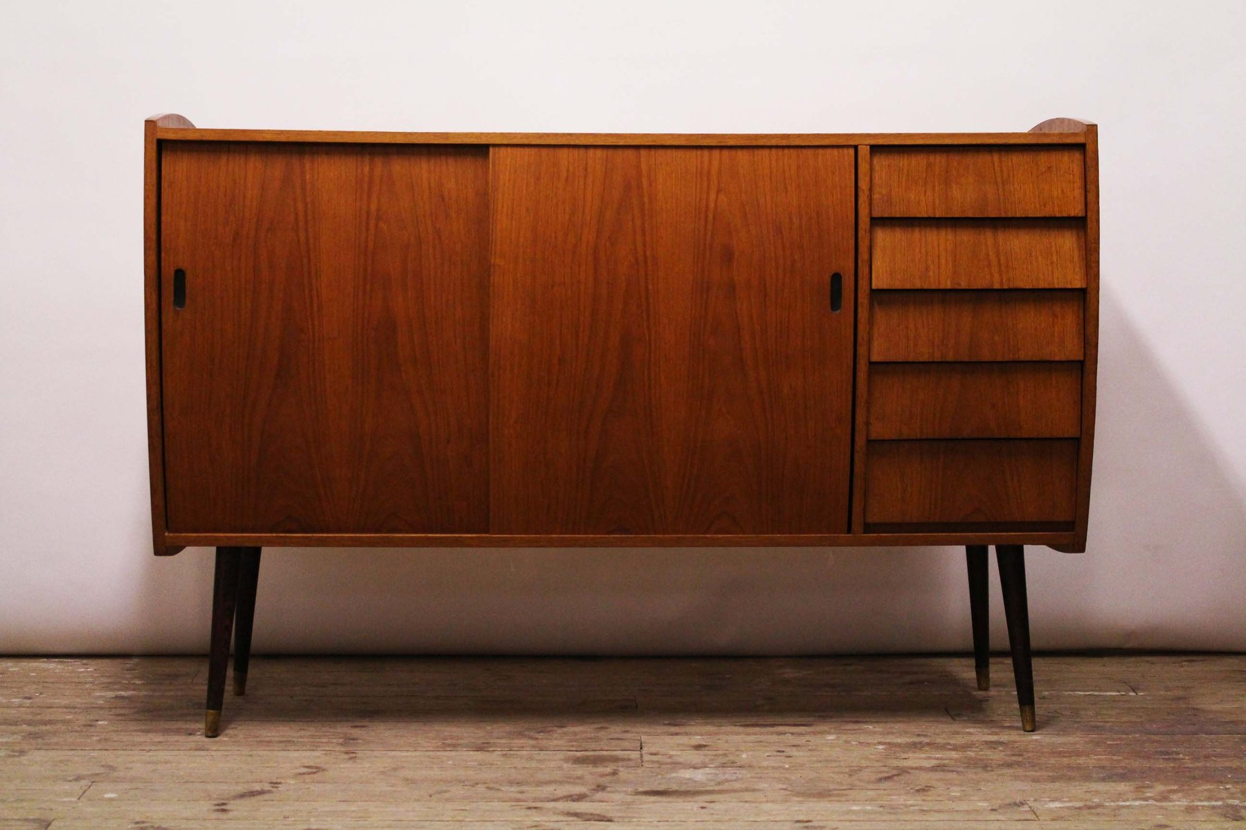 Credenza Ikea Uk : Model roulette teak sideboard from ikea for sale at pamono