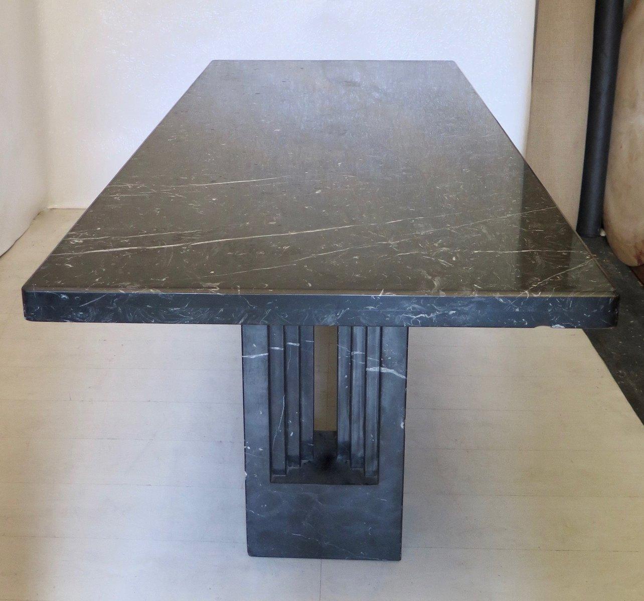Tavolo Delfi in marmo di Marcel Breuer & Carlo Scarpa, 1969 in ...