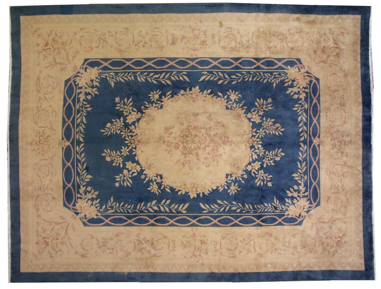 Chinesischer art deco teppich 1930er bei pamono kaufen - Art deco teppich ...
