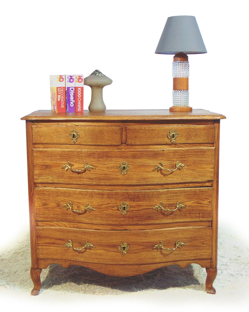antique swedish oak chest of drawers 1780s for sale at pamono. Black Bedroom Furniture Sets. Home Design Ideas