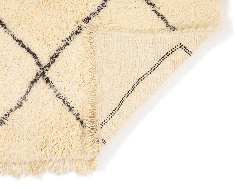 zeitgen ssischer marokkanischer berber teppich von beni ouarain bei pamono kaufen. Black Bedroom Furniture Sets. Home Design Ideas