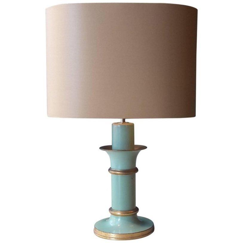 lampe de bureau art d co verte 1940s en vente sur pamono. Black Bedroom Furniture Sets. Home Design Ideas