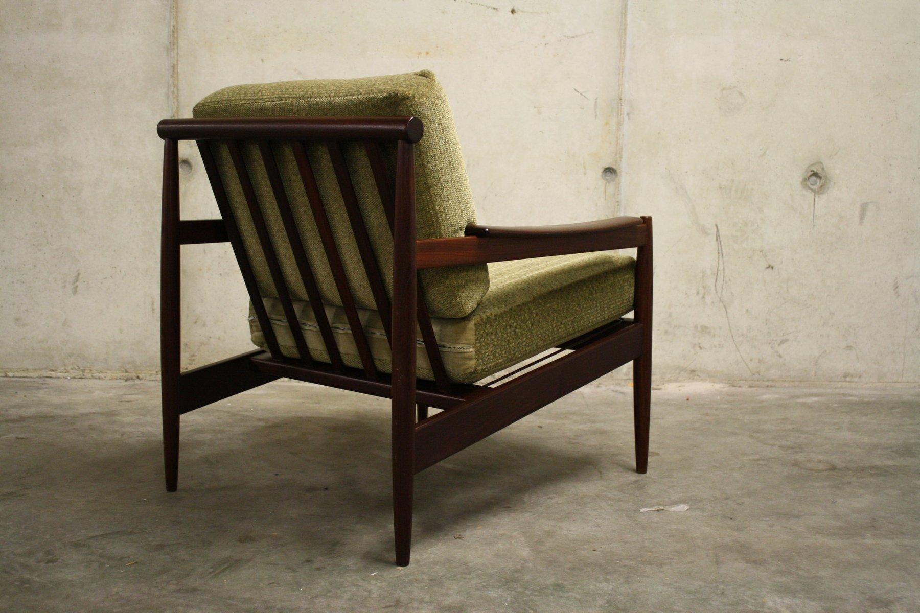 skandinavischer mid century teak sessel 1960er bei pamono kaufen. Black Bedroom Furniture Sets. Home Design Ideas
