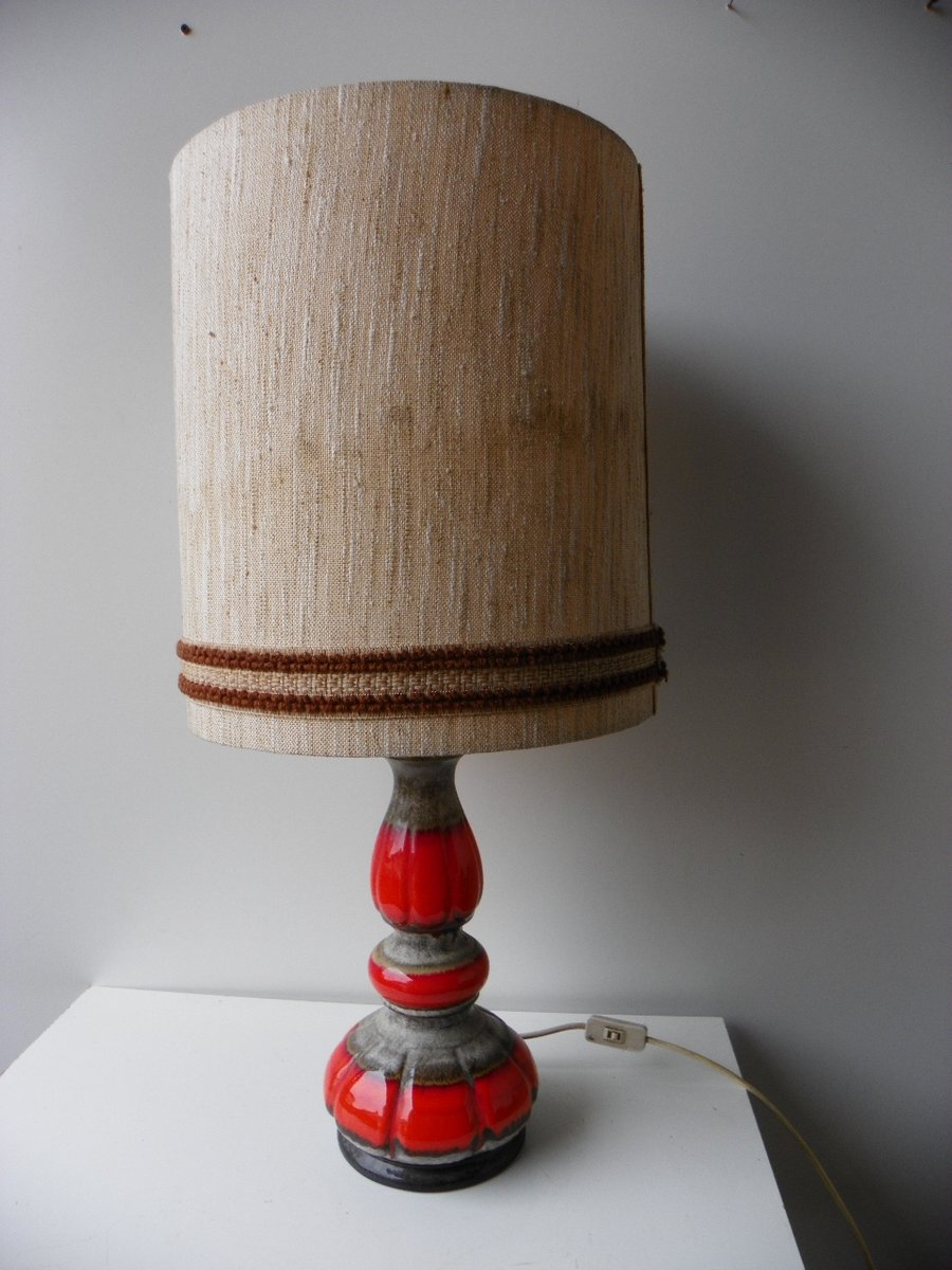 Deutsche Stehlampe von Hustadt Leuchten, 1960er