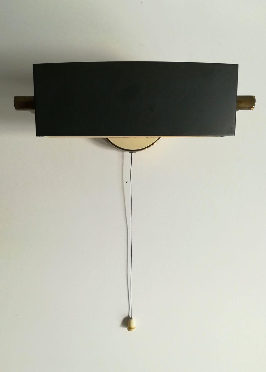 Kleine Nachttischlampe von Jacques Biny für Lita, 1950er