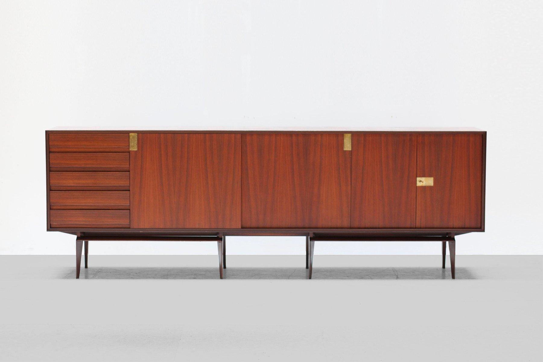 Palisander Sideboard von Edmoudo Palutari für Dassi, 1950er