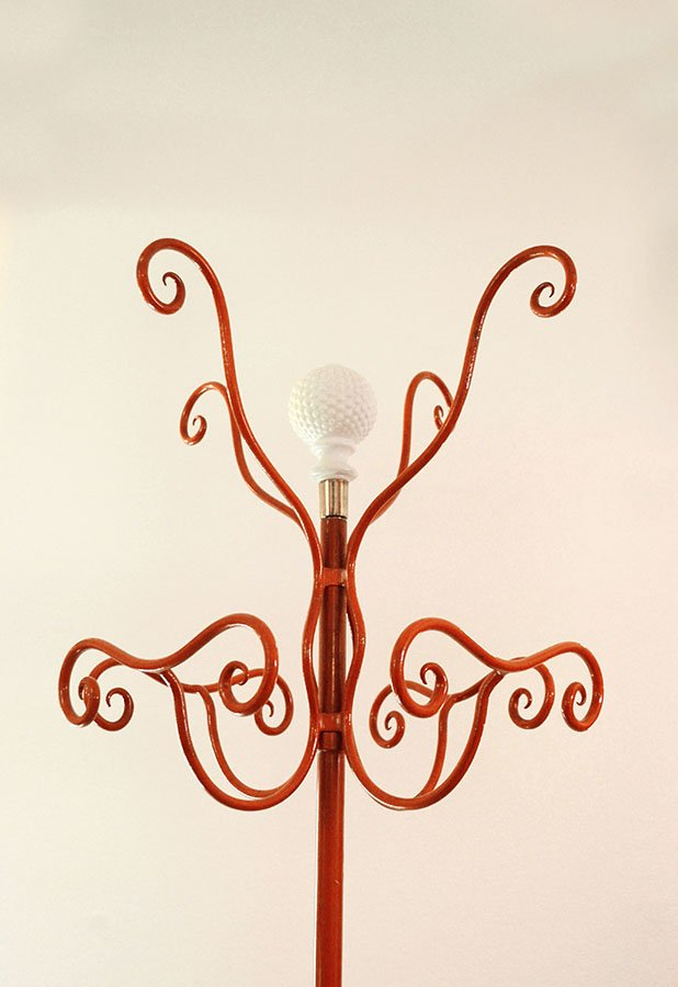 coat hanger in wrought iron by piero fornasetti 1950s for sale at