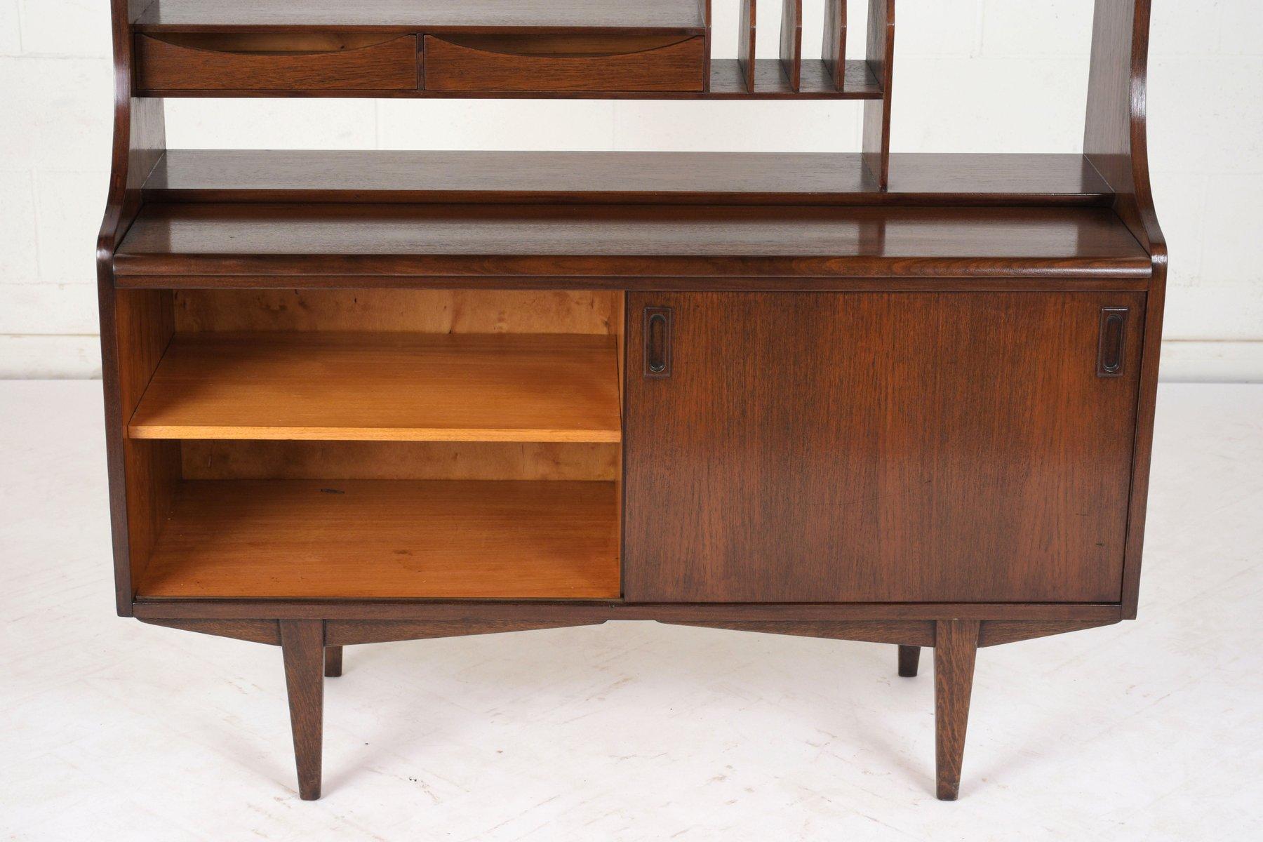 mid century modern sekret r mit b cherregal 1960er bei pamono kaufen. Black Bedroom Furniture Sets. Home Design Ideas