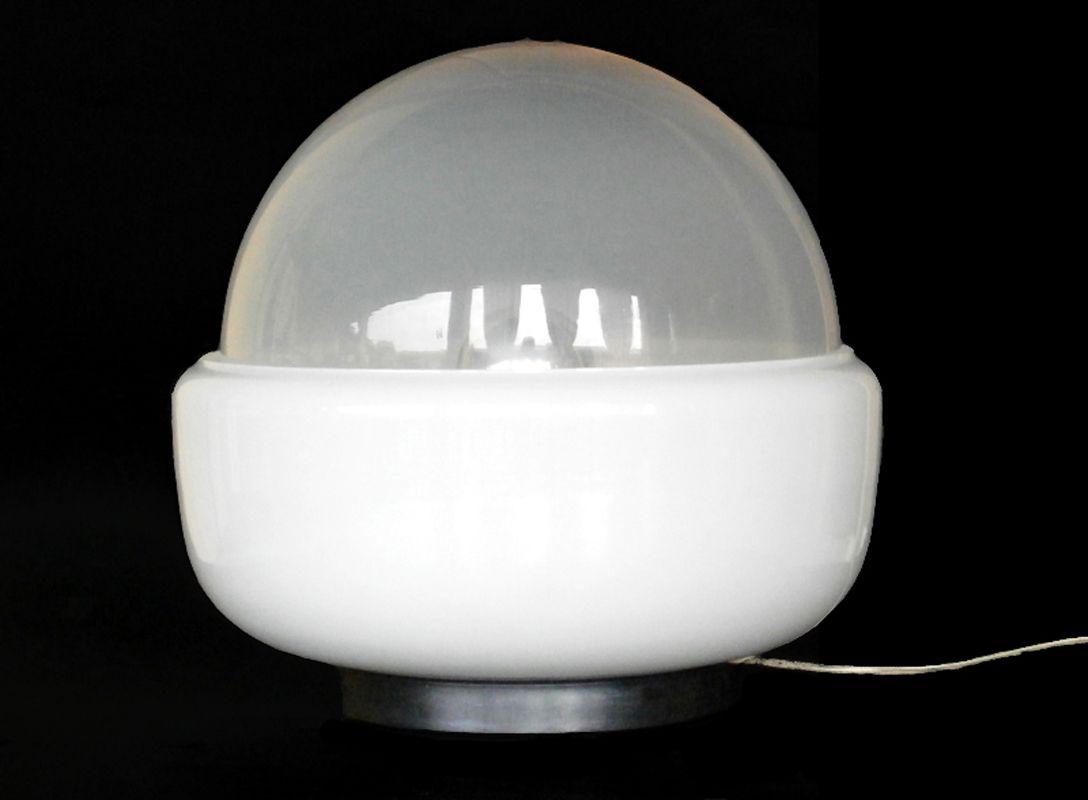 lampe de bureau en verre de murano de mazzega 1960s en vente sur pamono. Black Bedroom Furniture Sets. Home Design Ideas