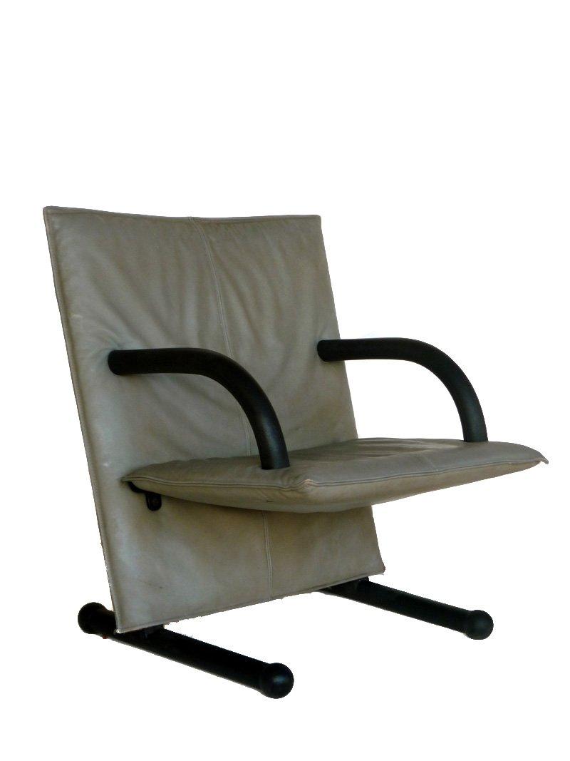 Sessel aus T Serie von Burkhard Vogtherr für Arflex, 1980er