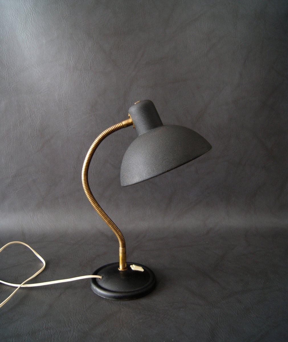 Französische Schreibtischlampe mit Schwanenhals, 1950er
