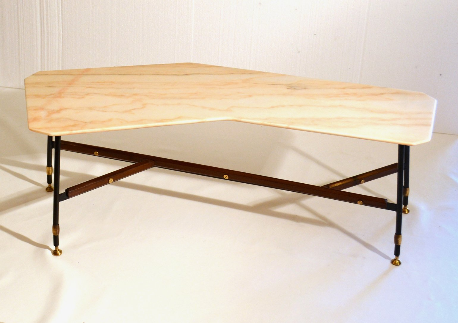 Italian Free Formed Marble Top Coffee Table 1950s For Sale At Pamono