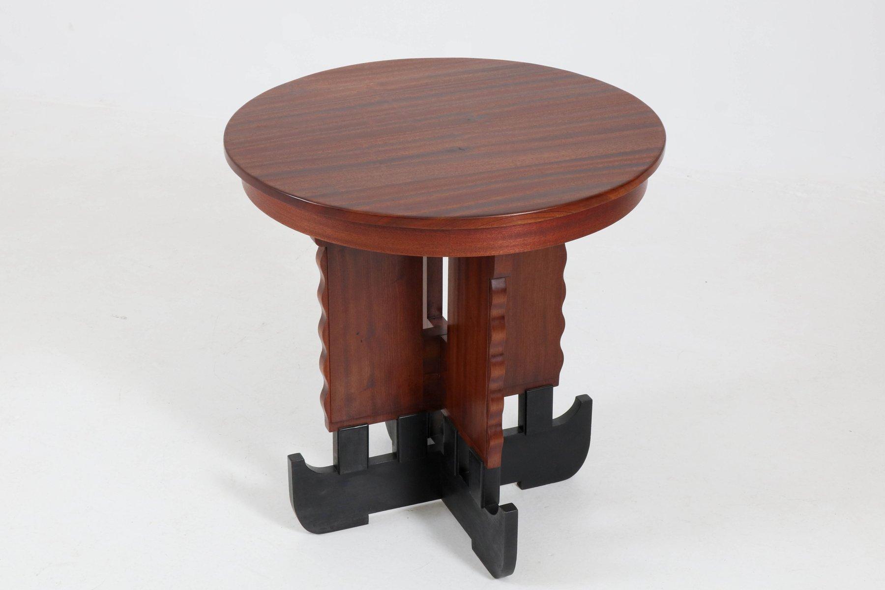 art deco mahagoni couchtisch 1920er bei pamono kaufen. Black Bedroom Furniture Sets. Home Design Ideas