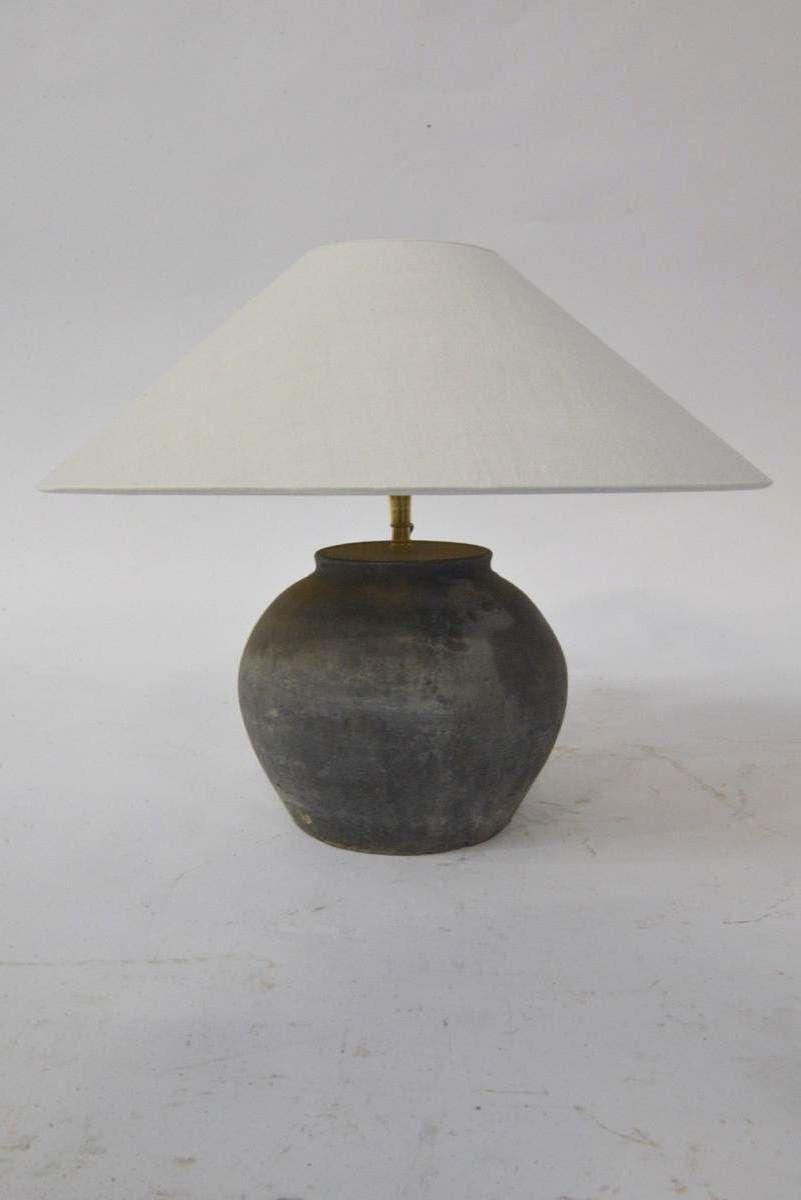 Antike Wasserkrug Tischlampe
