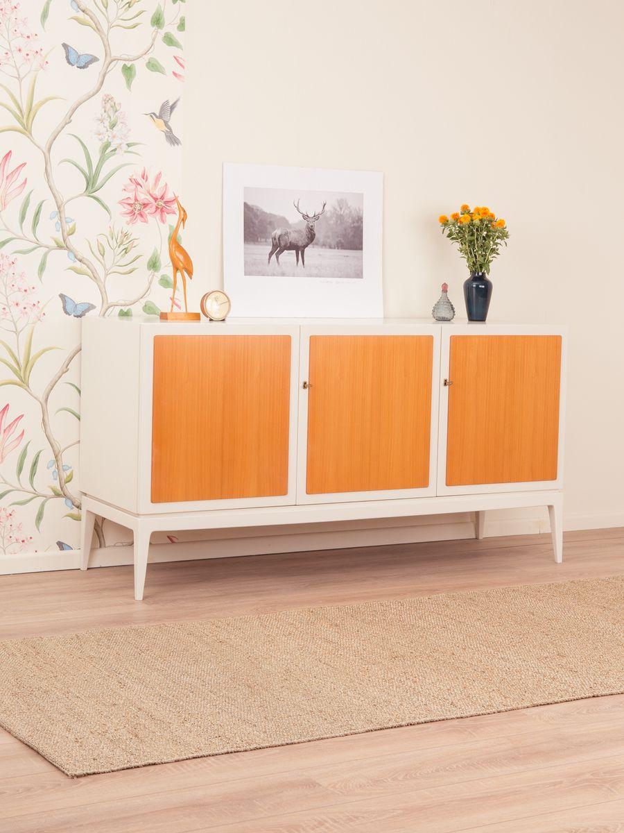 sideboard mit kirschholz furnier 1970er bei pamono kaufen. Black Bedroom Furniture Sets. Home Design Ideas