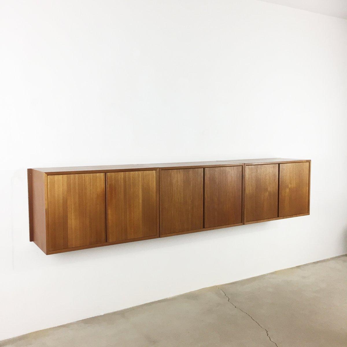Schwebendes Royal System Sideboard von Poul Cadovius für Cado, 1960er