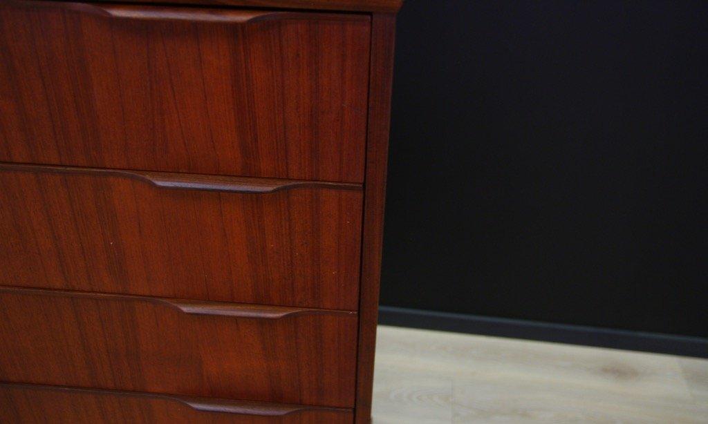 d nische vintage kommode mit teak furnier bei pamono kaufen. Black Bedroom Furniture Sets. Home Design Ideas