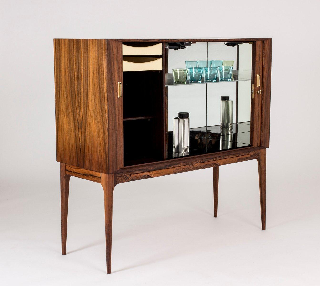 meuble bar en contreplaqu de palissandre par kurt stervig pour kp m bler 1960s en vente sur. Black Bedroom Furniture Sets. Home Design Ideas