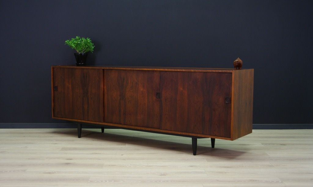 d nisches vintage sideboard mit palisander furnier bei pamono kaufen. Black Bedroom Furniture Sets. Home Design Ideas