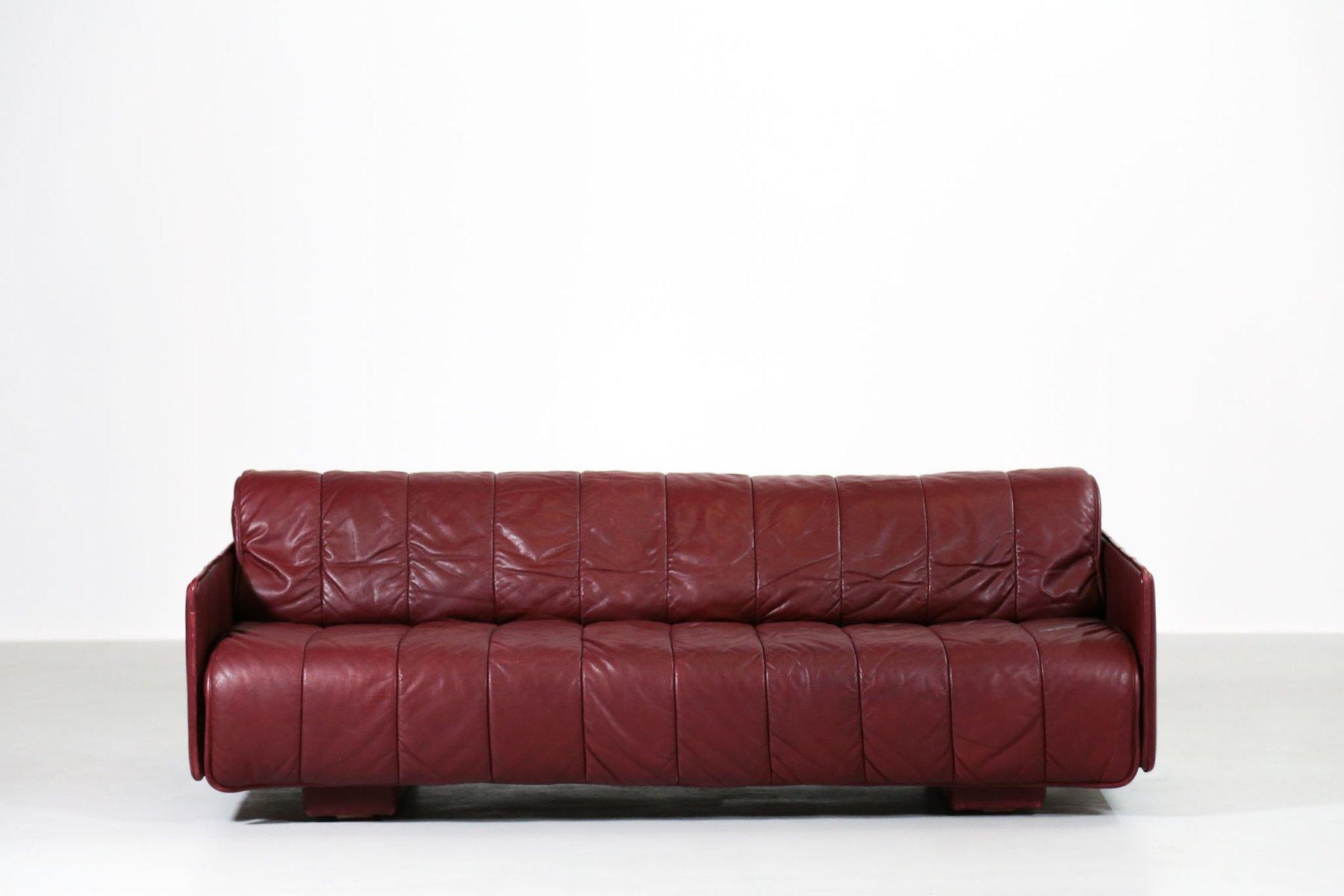 Divano Letto Patchwork : Divano letto in pelle di de sede svizzera anni in vendita su