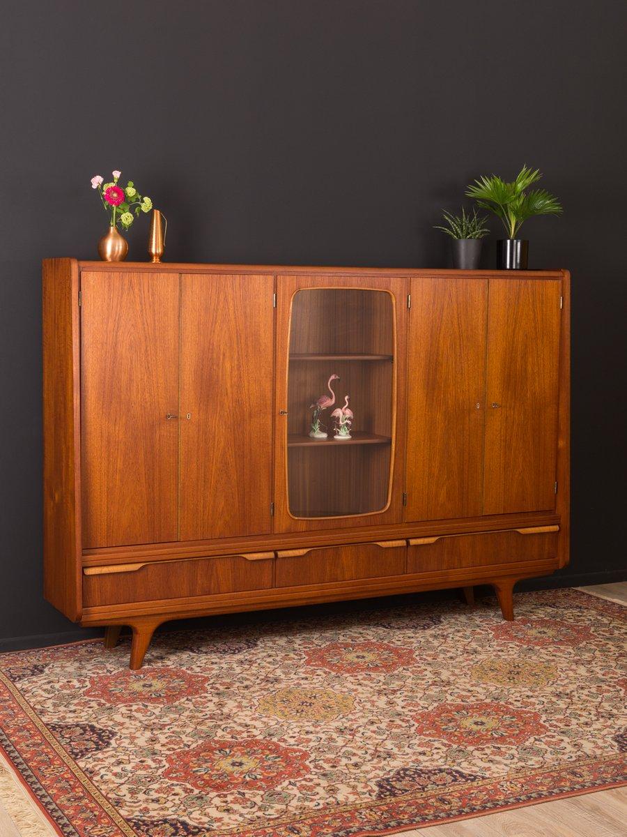 meuble en contreplaqu en teck danemark 1960s en vente sur pamono. Black Bedroom Furniture Sets. Home Design Ideas