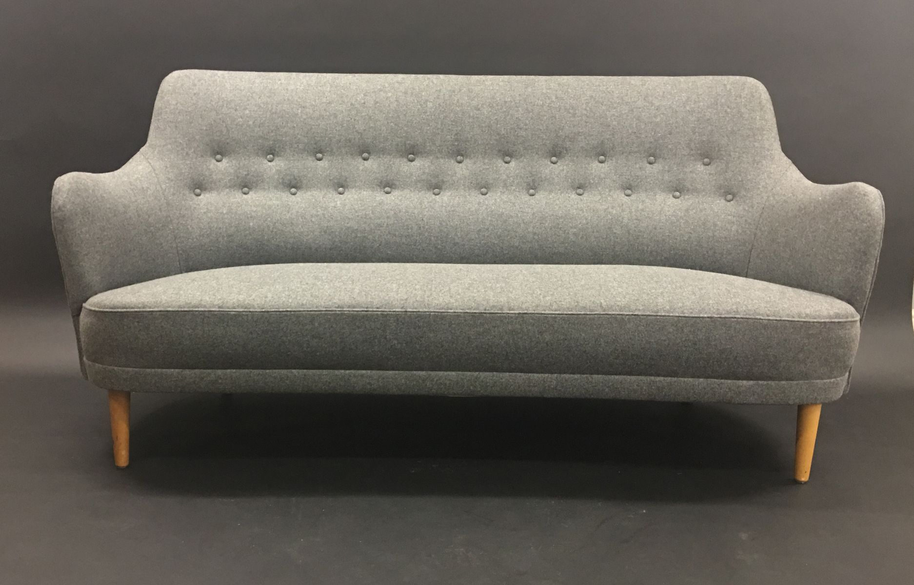 Modell Samsas 3-Sitzer Sofa von Carl Malmsten für O.H. Sjögren, 1960er