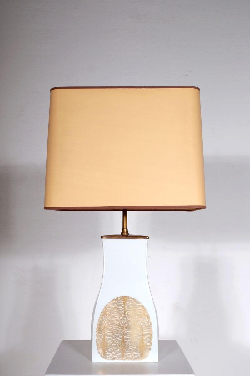 Porzellan Tischlampen von Lorenz Hutchenreuther, 1960er, 2er Set