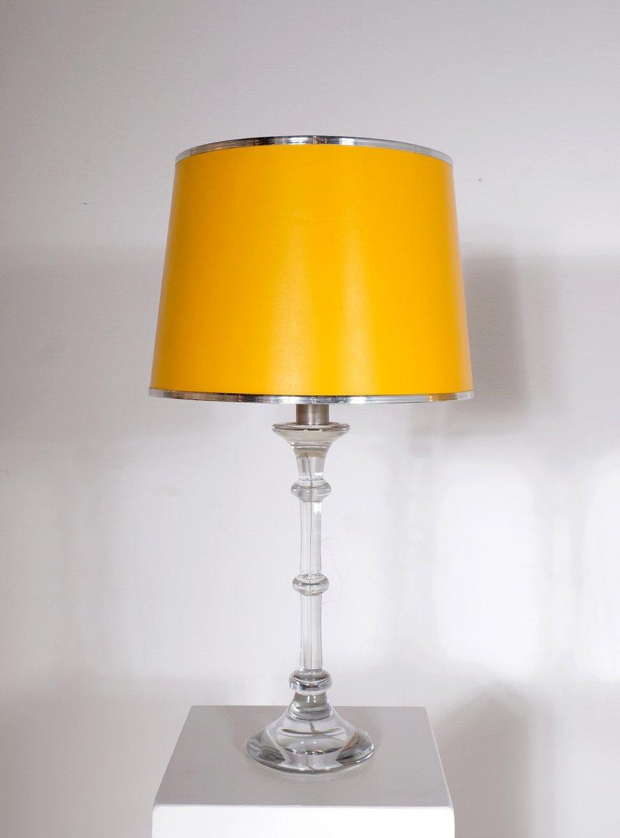 Belgische Tiffany Tischlampen von Ingo Maurer für Val Saint Lambert, 1...
