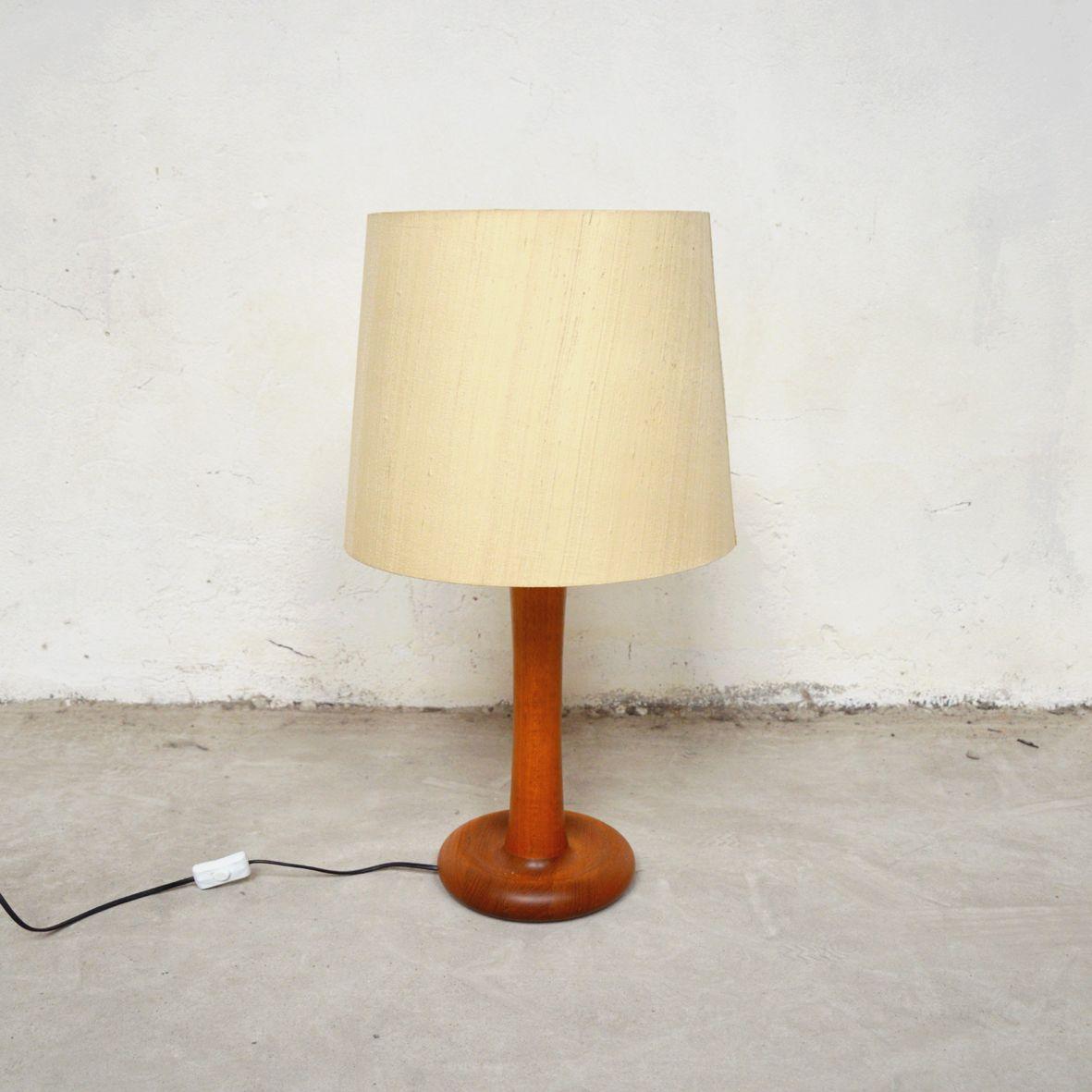 Dänische Teak Tischlampe von Dyrlund, 1960er