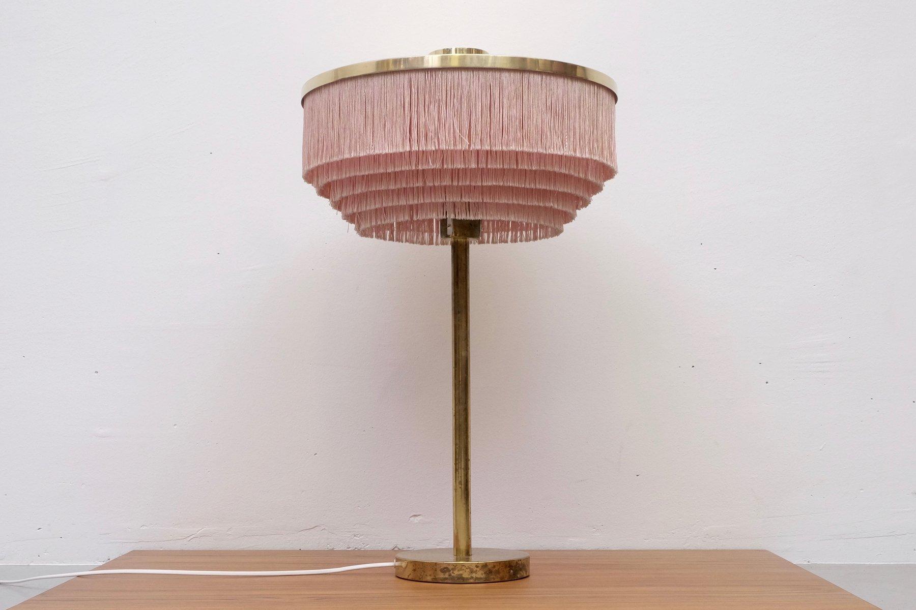 B-138 Rosa Messing Tischlampe von Hans-Agne Jakobsson für Hans-Agne Ja...